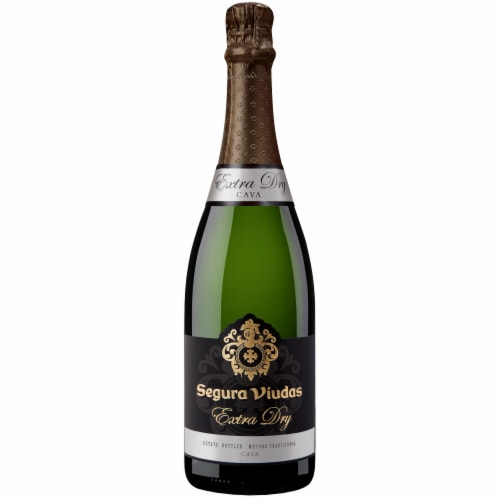 Segura Viudas Extra Dry Sparkling Wine Perspective: front