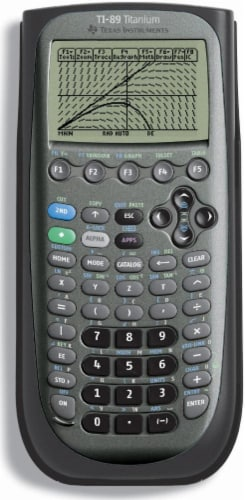Texas Instruments TI-89 Titanium Graphing Calculator Perspective: front