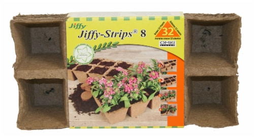 Jiffy Strips Seed Starters Perspective: front