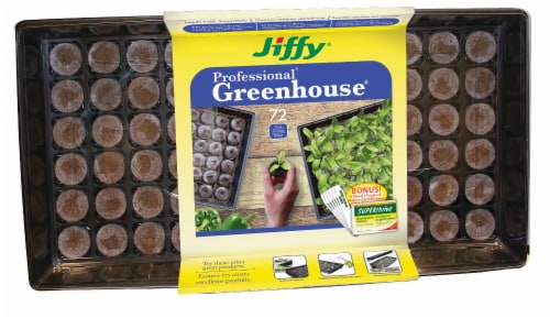 Ferry-Morse Jiffy 72-Cell Professional Greenhouse Tray Perspective: front