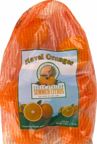 Oranges - Navel Perspective: front