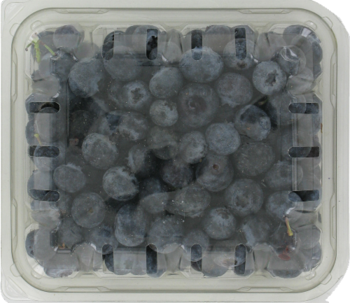 Blueberries Perspective: front