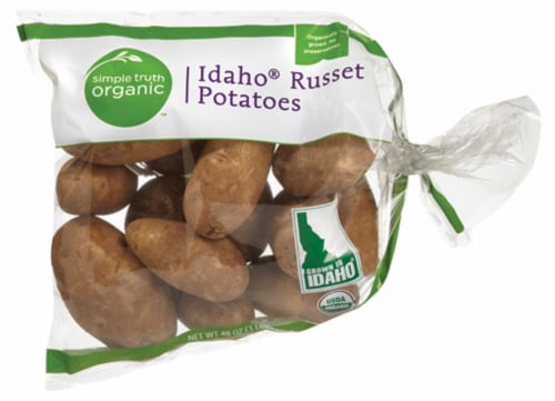 Simple Truth Organic™ Idaho Russet Potatoes Perspective: front