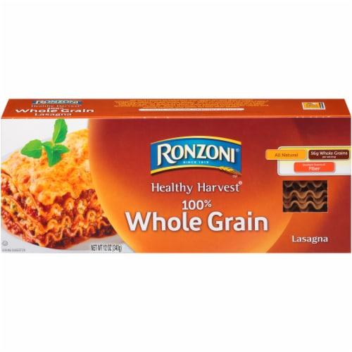 Ronzoni® Healthy Harvest® Whole Grain Lasagna Perspective: front