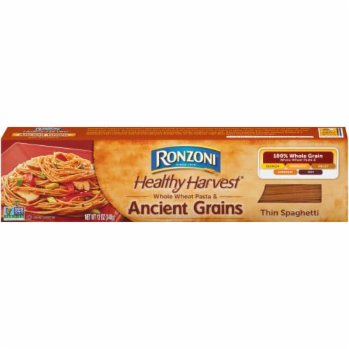 Ronzoni Healthy Harvest Ancient Grains Thin Spaghetti Perspective: front