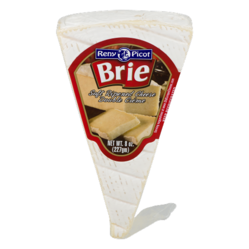 Reny Picot Brie Cheese Wedge Perspective: front