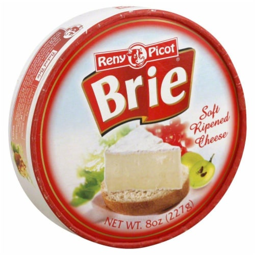 mariano's  reny picot brie soft ripened cheese 8 oz