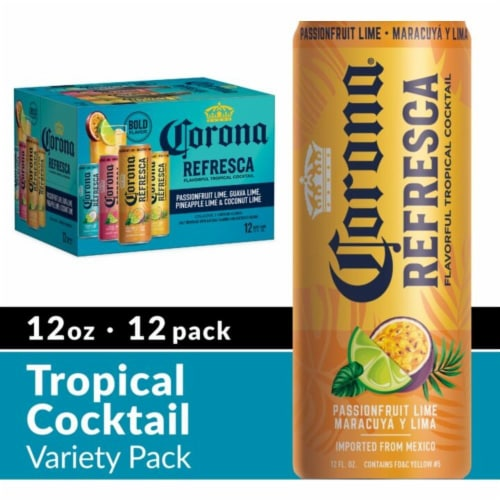 Corona® Refresca Variety Pack Perspective: front