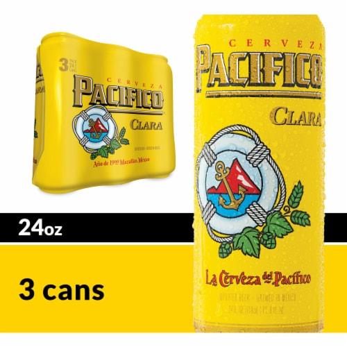 La Cerveza del Pacifico Clara Import Beer Perspective: front