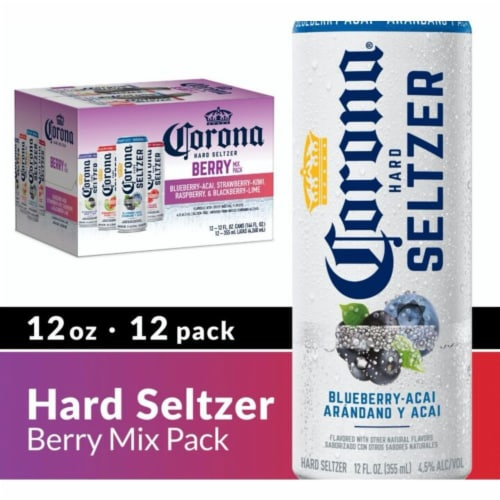 Corona® Hard Seltzer Variety Pack Perspective: front