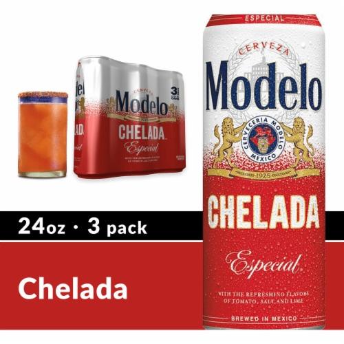 Modelo Chelada Perspective: front