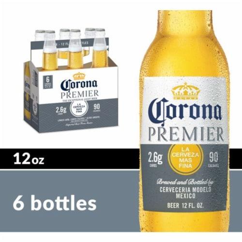 Corona Premier Lager Beer Perspective: front
