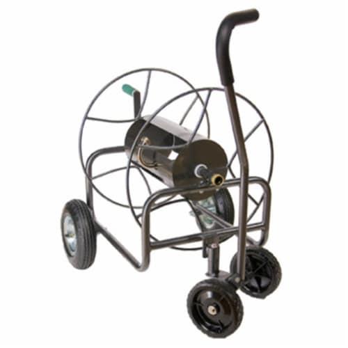 Yard Butler Garden Hose Reel,Cart,18 in,Steel HAWA HT-4EZTURN Perspective: front