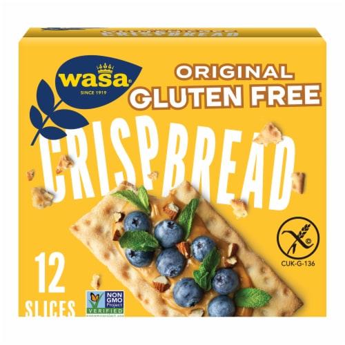 Wasa Gluten Free Original Crispbread Perspective: front