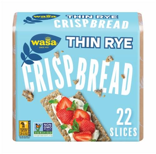 Wasa Thin Rye Crispbread Perspective: front