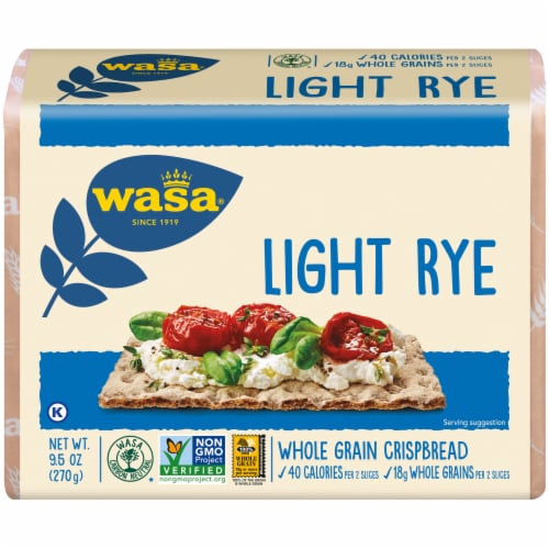 Wasa Light Rye Crispbread Perspective: front