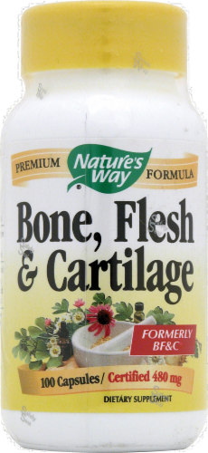 Nature's Way Bone Flesh & Cartilage Capsules Perspective: front
