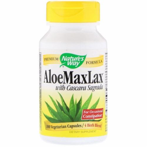Nature's Way  AloeMaxLax™ with Cascara Sagrada Perspective: front