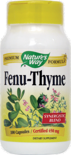 Nature's Way Fenugreek Thym Perspective: front