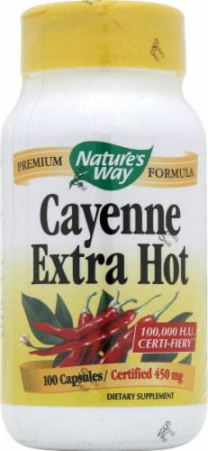 Nature's Way  Cayenne Extra Hot Perspective: front