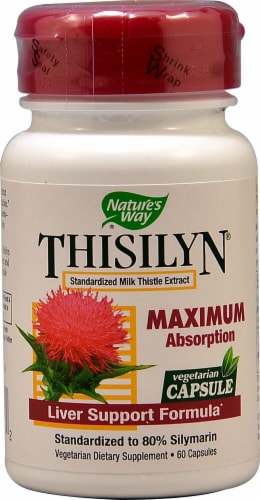 Nature's Way  Thisilyn® Standardized Milk Thistle Extract Perspective: front