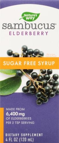 Nature's Way Sugar Free Sambucus Elderberry Syrup Perspective: front