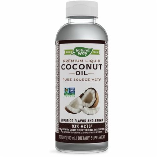 Nature's Way Liquid Coconut Premium Oil Perspective: front