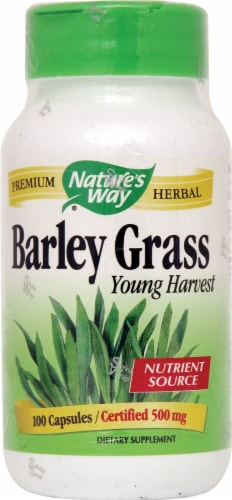 Nature's Way  Barley Grass Young Harvest Perspective: front