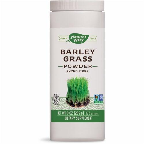 Nature's Way  Barley Grass Bulk Powder Perspective: front
