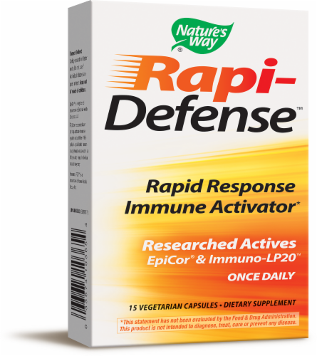 Nature's Way Rapi-Defense Immune Activator Capsules Perspective: front