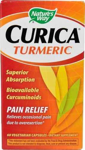 Nature's Way  Curica® Turmeric Perspective: front