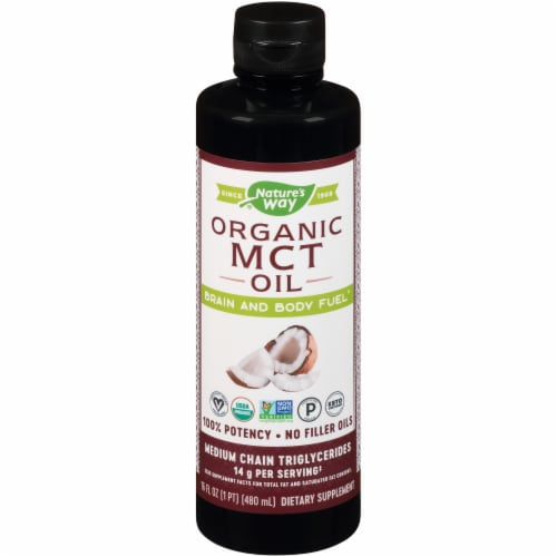 Nature's Way MCT Oil Perspective: front