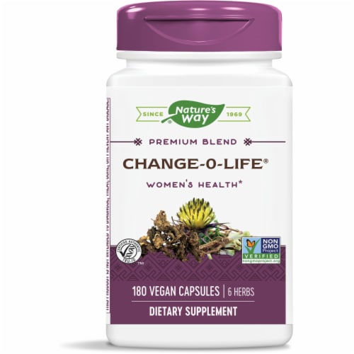Nature's Way Change-O-Life Supplement Perspective: front