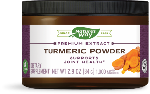 Nature's Way Turmeric Powder Perspective: front