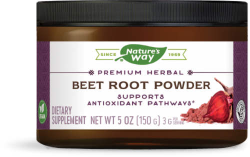 Nature's Way Beet Root Powder Perspective: front