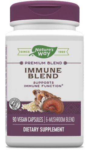 Nature's Way Immune Blend Capsules Perspective: front