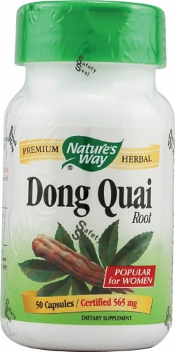 Nature's Way  Dong Quai Root Perspective: front