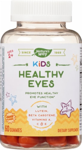 Nature's Way Kids Healthy Eyes Gummies Perspective: front