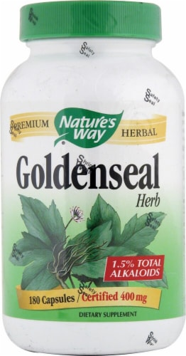 Nature's Way  Goldenseal Herb Perspective: front