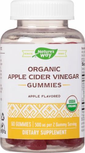 Nature's Way Apple Cider Vinegar Gummies Perspective: front