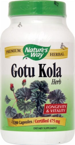 Nature's Way  Gotu Kola Herb Perspective: front