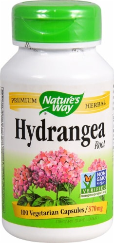 Nature's Way Hydrangea Root 370 mg Perspective: front