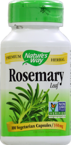 Nature's Way Rosemary Leaves Capsules 350mg Perspective: front