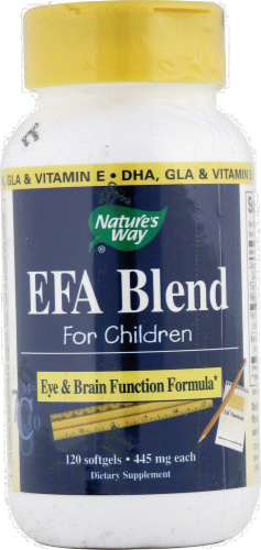 Nature's Way EFA Blend Softgels for Children Perspective: front