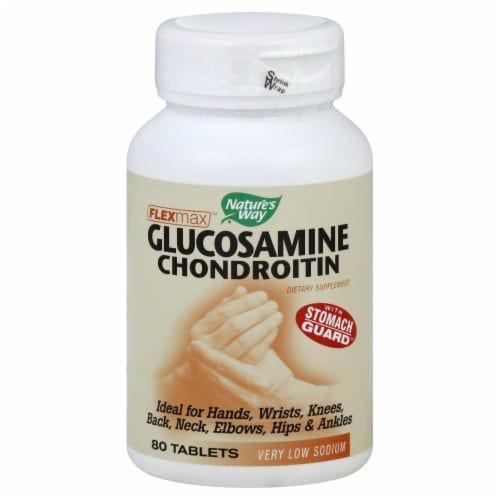 Nature's Way Glucosamine Chondroitin Tablets Perspective: front