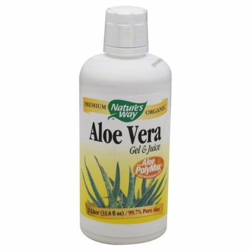 Nature's Way Aloe Vera Gel and Juice Perspective: front