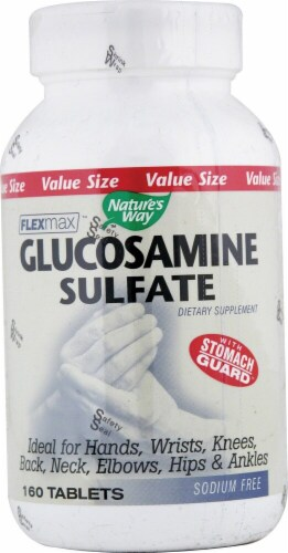 Nature's Way  FlexMax™ Glucosamine Sulfate Perspective: front