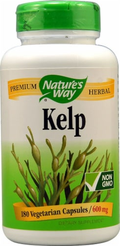 Nature's Way Kelp 600 mg Perspective: front