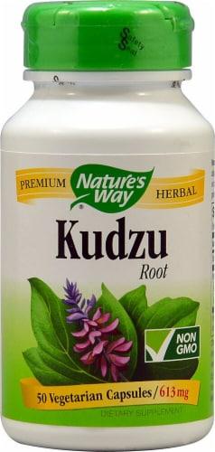 Nature's Way Kudzu Root Capsules 613mg Perspective: front
