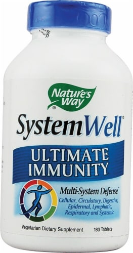 Nature's Way  SystemWell® Ultimate Immunity Perspective: front